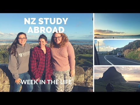New Zealand Study Abroad Vlog #1 -hitemwithdaSAK