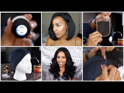 How to Make a Full Wig with Lace Closure (Beginner Friendly)