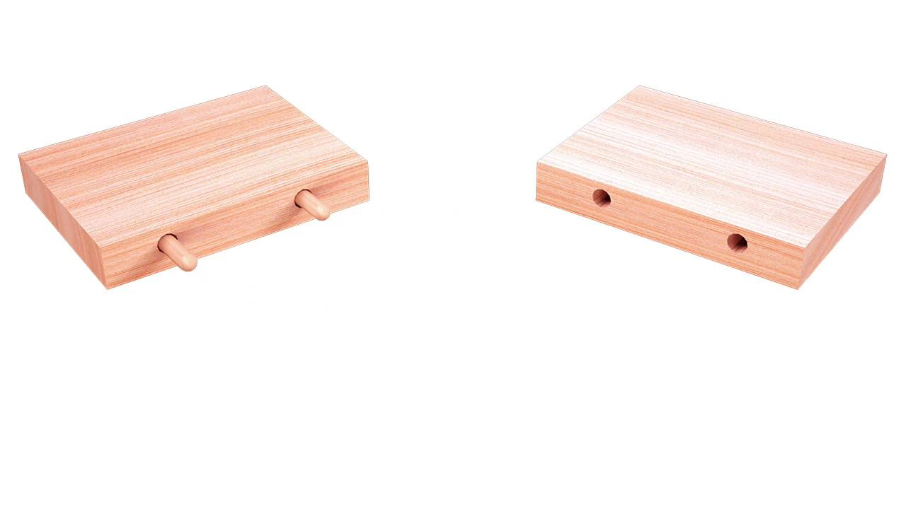 Wood Joinery Dowel Joint Youtube