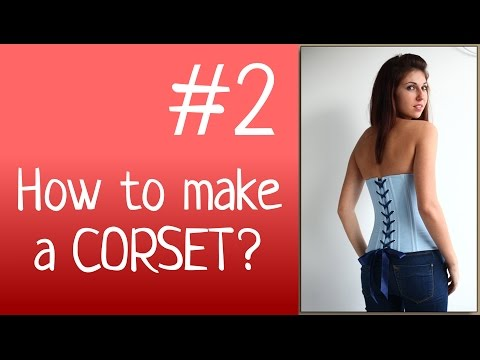 how to make an easy corset top