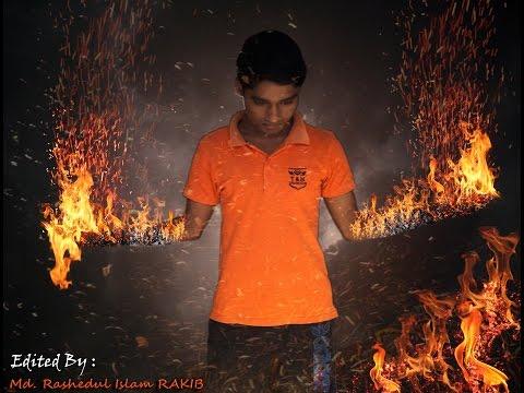 Fire Effect Photoshop Manipulation