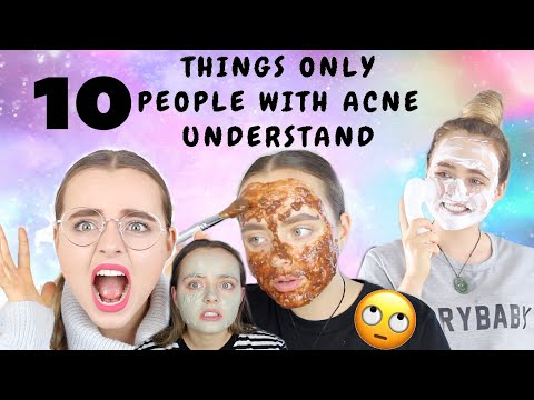 10 THINGS ONLY PEOPLE WITH ACNE UNDERSTAND! | Conagh Kathleen