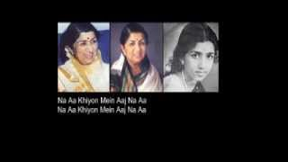 Ja Re Ja Ja Nindiya Ja + Hitam Manis / Lata Mangeshkar + R.Azmi
