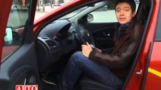 Тест драйв Renault Fluence.  Загадочный авто и для России