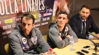 ANTHONY CROLLA v JORGE LINARES - FULL POST FIGHT PRESS CONFERENCE / TWO WORLDS COLLIDE