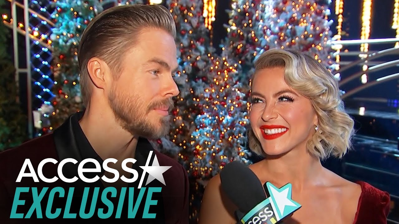 Julianne And Derek Hough Tease Which 'DWTS' Stars Will Join Them On 'Holidays With The Houghs'