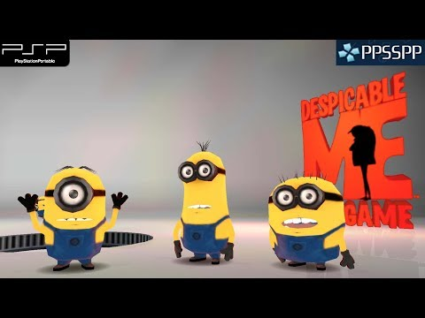 Despicable Me: The Game - PSP Gameplay 1080p (PPSSPP)