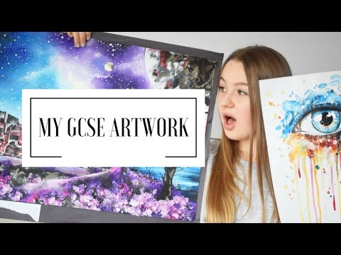 MY GCSE ARTWORK | A* student