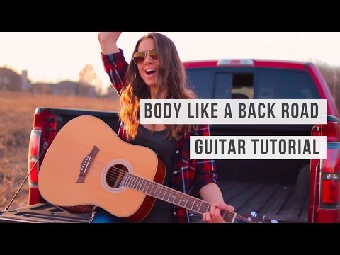 Body Like a Back Road -  Sam Hunt // Guitar Tutorial
