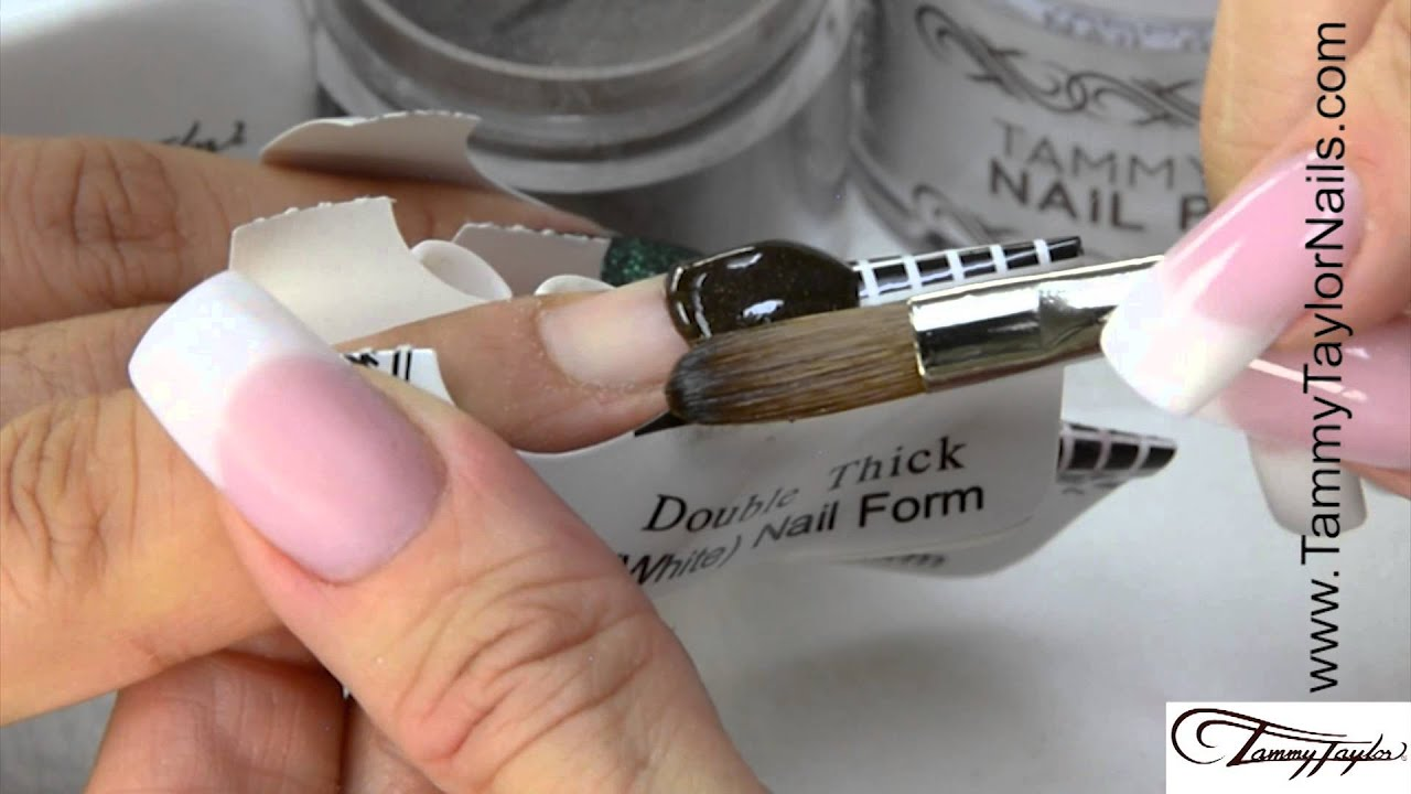 Tammy Taylor Sculptured Acrylic Nails With Rustic Christmas Collection Demos You