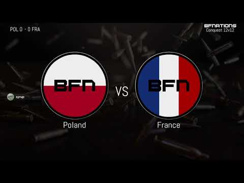 Poland vs France | Conquest 12v12 | International Friendly