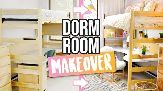 Real Life Dorm Room Complete Makeover ~ Diys & Full Dorm Tour - Hgtv Handmade