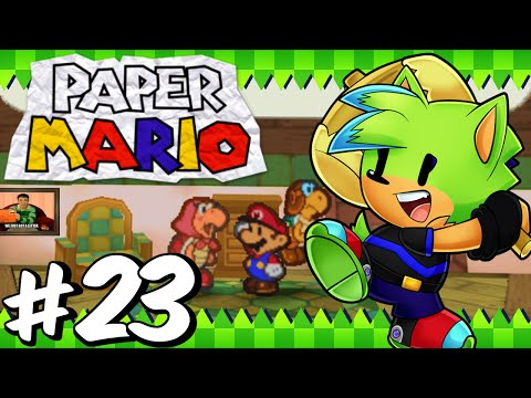 Paper Mario 64 (BLIND) - Part 23 - Mail Delivery!!!
