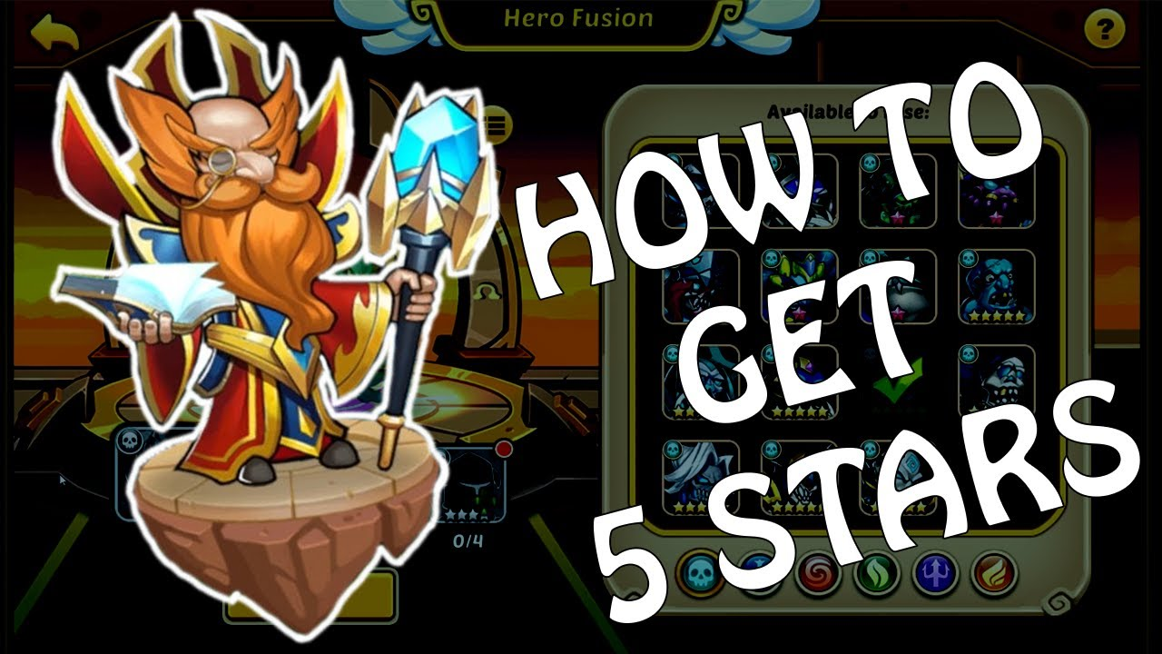 IDLE HEROES - HOW TO GET 5 STAR HEROES