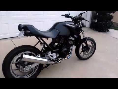 2007 Kawasaki Ninja 250 Cafe Scrambler Racer 250r Part 4 - YouTube