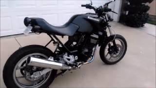 2007 Kawasaki Ninja 250 Cafe Scrambler Racer 250r Part 4