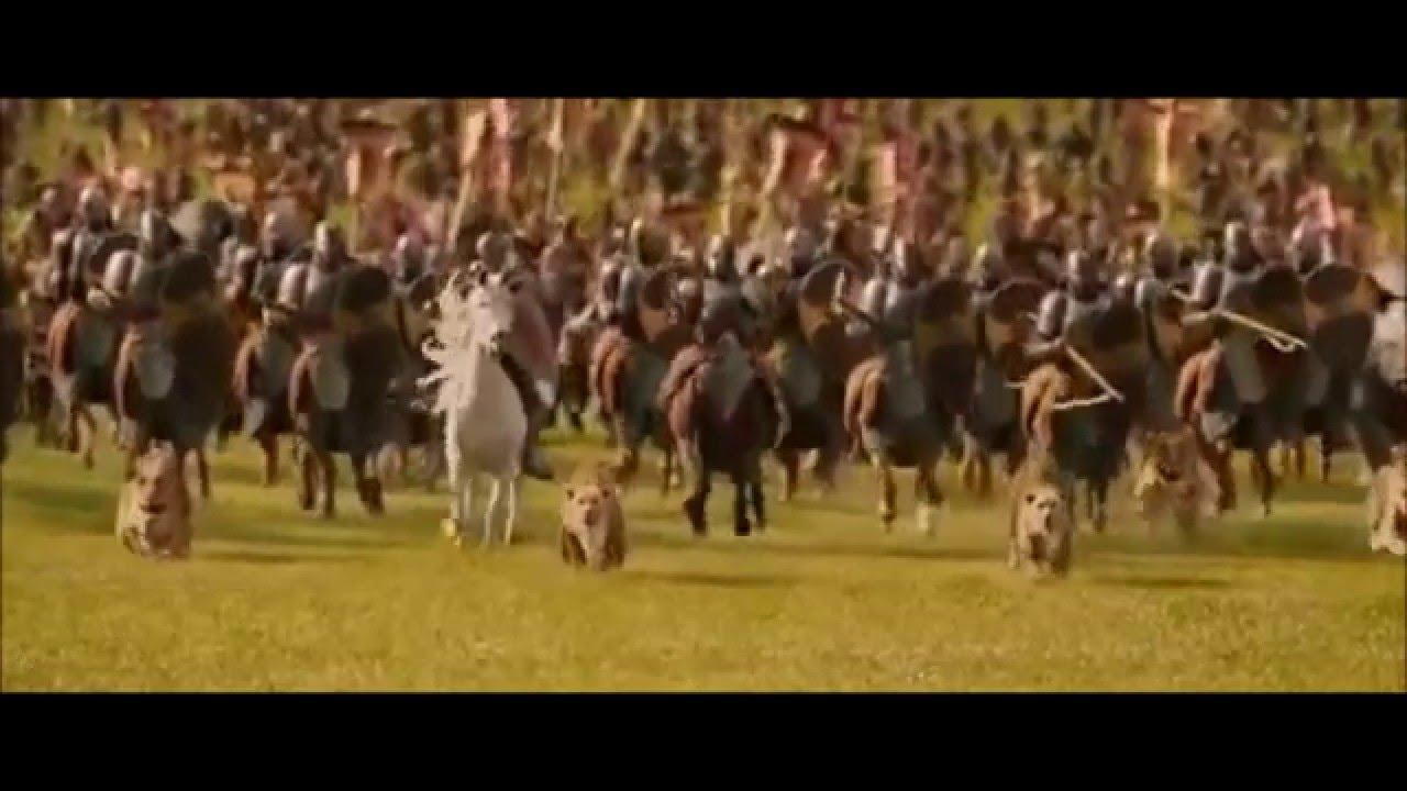Narnia Battle Scene (feat. Jurassic Park) - YouTube