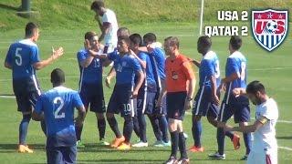 U-20 MNT vs. Qatar: Highlights - April 21, 2015