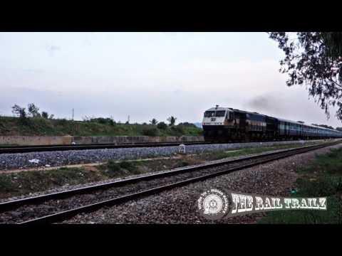Hampi Express Departs Mysore