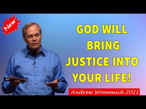 Download Andrew Wommack 2021 -  SPECIAL SERMON- -God Will Bring Justice Into Your Life! - MUST WATCH