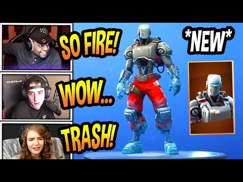 STREAMERS REACT TO *NEW* \
