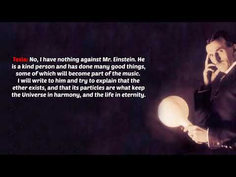 Nikola Tesla Interview Hidden For 116 Years Incredible 720p
