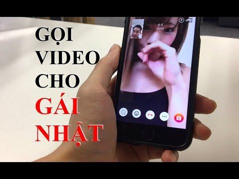 Cách dùng app để gọi Video với gái Nhật
