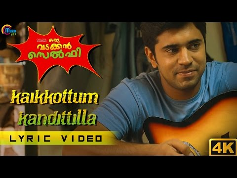 Kaikkottum Kandittilla song with LYRICS | Oru Vadakkan Selfie | Nivin Pauly | Vineeth Sreenivasan