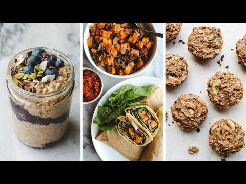 3 Make Ahead Vegan Breakfasts for School/Work