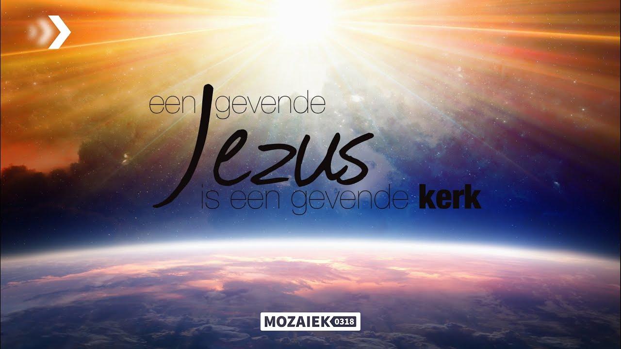 Preek: Een gevende Jezus is een gevende kerk - Cees van Harten