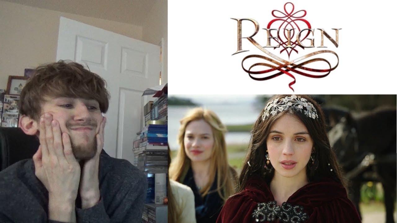 reign season 1 episode 1 pilot reaction youtube