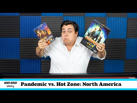 Pandemic Vs. Hot Zone: North America | Board Game Comparison