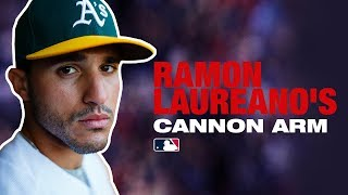 Best arm in MLB? Ramon Laureano's Insane Arm