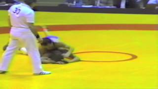 1987 Senior European Championships: 57 kg Zygmunt Kolodziej (POL) vs. Sergei Beloglazov (USSR)