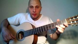 Фламенко на гитаре. Видеоурок