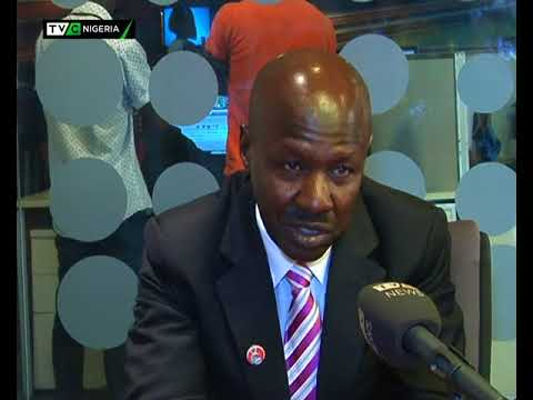 EFCC boss, Ibrahim Magu visits TVC News Headquarters