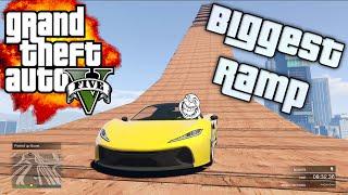 GTA V - !BIGGEST RAMP! - (XBOX ONE GAMEPLAY)