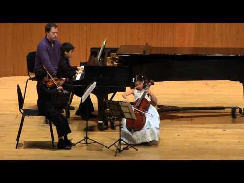 Miniatures for Piano Trio  H.89 by Frank Bridge