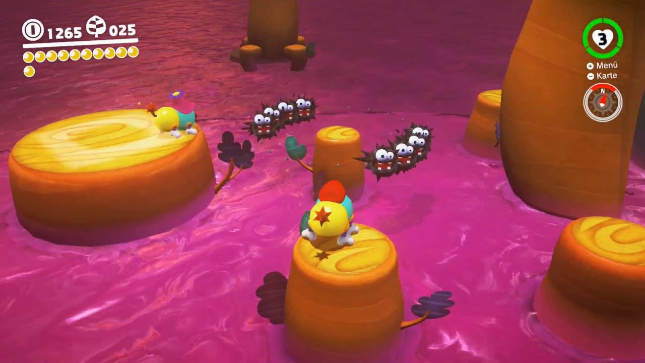 Super Mario Odyssey Verlorenes Land Ruh Dich Aus Kapitän Toad