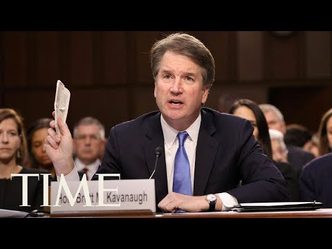 Senators give arguments following a vote to advance Brett Kavanaugh's nomination | TIME