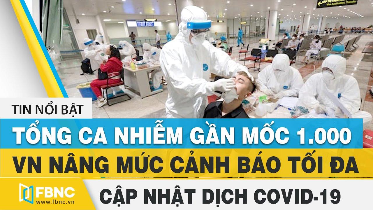 Tin tức Covid-19 mới nhất   Dịch virus Corona Việt Nam hôm nay trưa 19/8   FBNC