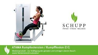 MTT Rumpfextension / Rumpfflexion Kombi ATAMA Compact von Schupp