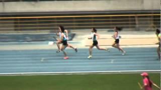 101年全國大專院校田徑公開賽女甲4x100公尺接力決賽