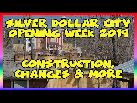 Silver Dollar City Opening Week 2019- Construction, Changes At The Park | Sir Willow's Park Tales