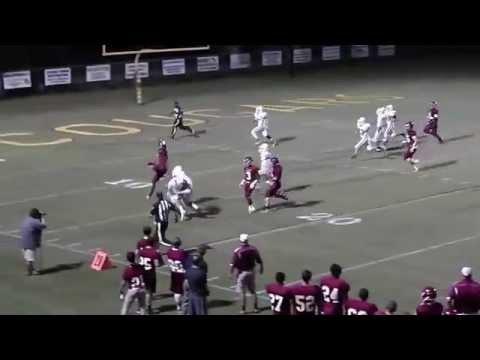 Escambia Academy EA Cougar Kris Brown Hurdles defender 09252015