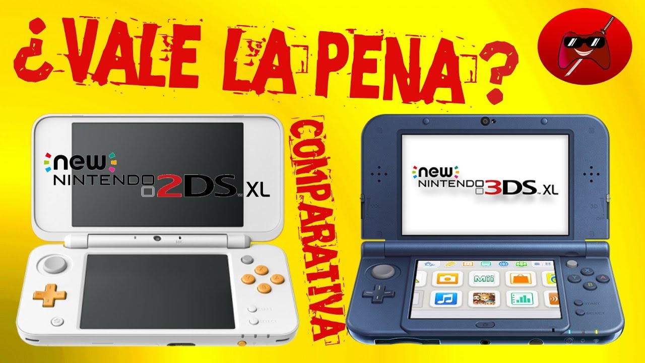 Comparativa New Nintendo 2ds Xl Con New Nintendo 3ds Xl Cual