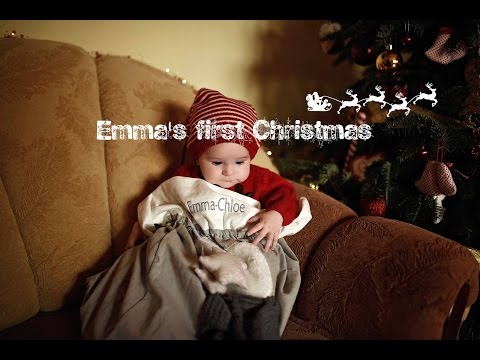 Emma's first Christmas with Yankee and Mamas&Papas