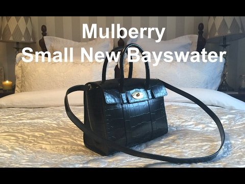 Mulberry Small New Bayswater Handbag Reveal