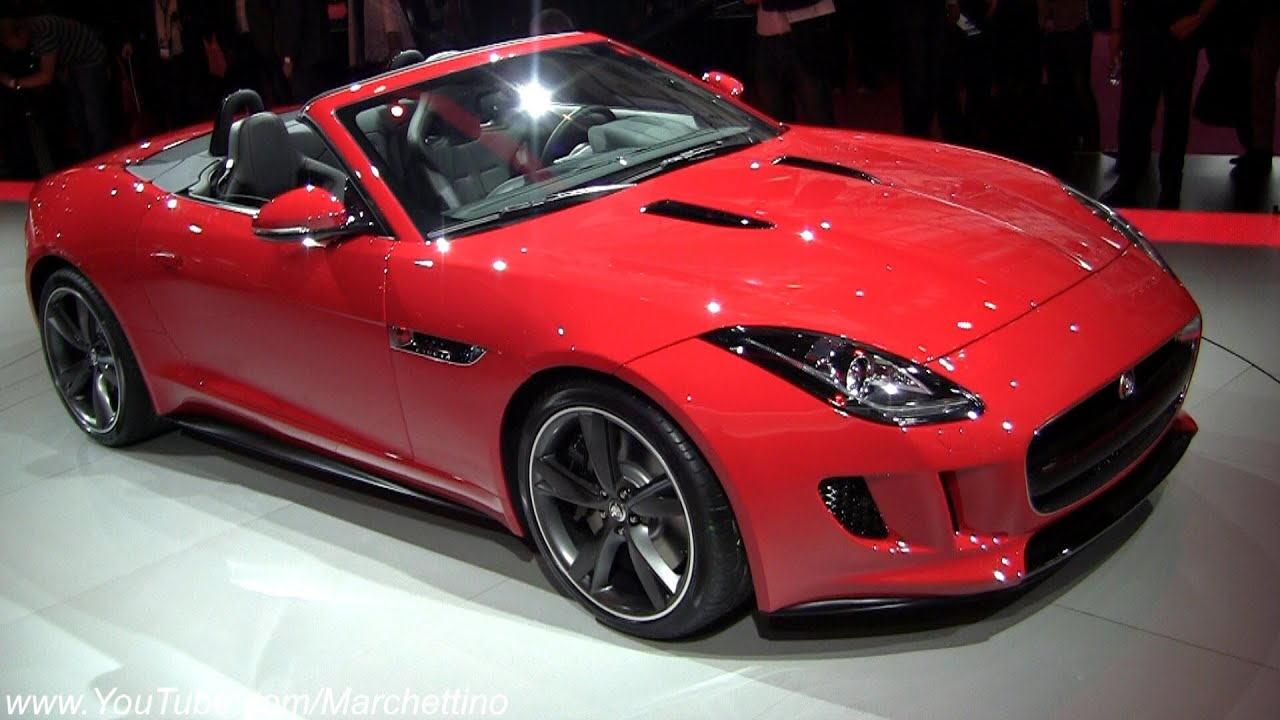 2013 Jaguar F Type V8 S Convertible In Detail