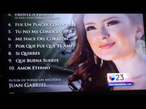 NOTICIAS UNIVISION 23-Dallas  Homenaje a Juan Gabriel
